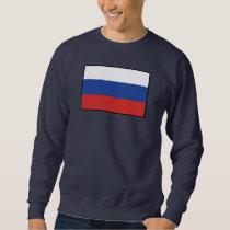 Russia Plain Flag Sweatshirt