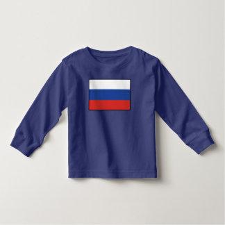Russia Plain Flag Tee Shirt