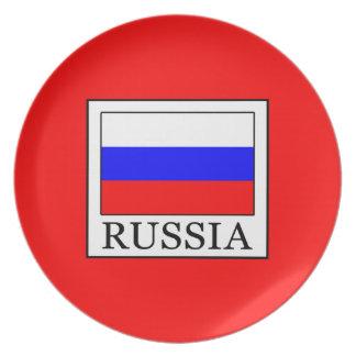 Russia Plate