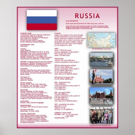 Russia Print