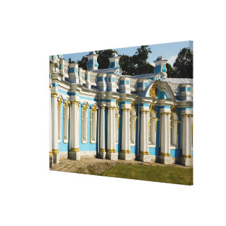 Russia, Pushkin. Portion of Catherine Palace. Canvas Print