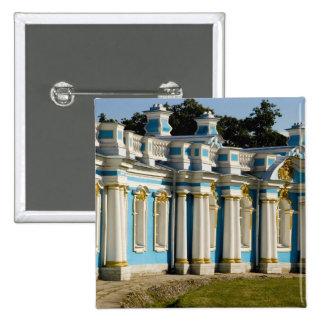 Russia, Pushkin. Portion of Catherine Palace. Pinback Button