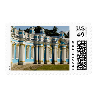 Russia, Pushkin. Portion of Catherine Palace. Postage