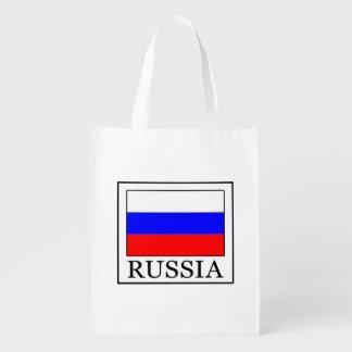 Russia Reusable Grocery Bag