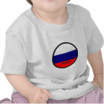 Russia Roundel quality Flag Tee Shirts
