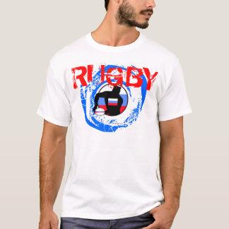 Russia Rugby Fans T-Shirt Pass Ball