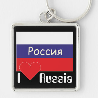 Russia - Russia key supporter Keychain
