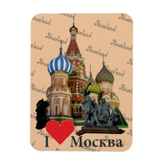 Russia - Russia Moscow magnet