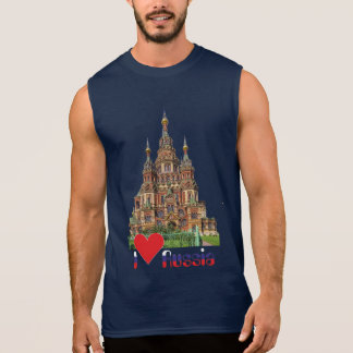 Russia Russia Moscow Moskow Sleeveless Shirt