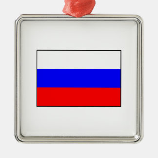 Russia – Russian Flag Metal Ornament