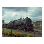 Russia, Ry four unit road diesel set with train, l Post Cards