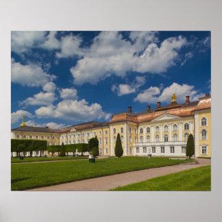 Russia, Saint Petersburg, Peterhof, Grand Palace 2 Poster