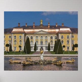 Russia, Saint Petersburg, Peterhof, Grand Palace 3 Poster