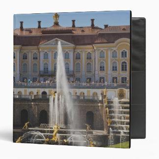 Russia, Saint Petersburg, Peterhof, Grand Palace 4 Vinyl Binders