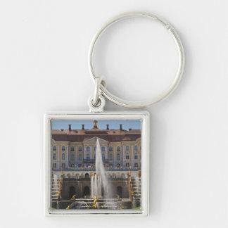 Russia, Saint Petersburg, Peterhof, Grand Palace 4 Keychain