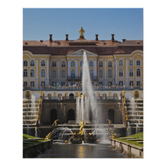 Russia, Saint Petersburg, Peterhof, Grand Palace 4 Poster