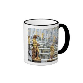 Russia, Saint Petersburg, Peterhof, Samson and Ringer Mug