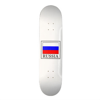 Russia Skateboard Deck