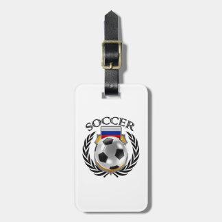 Russia Soccer 2016 Fan Gear Bag Tag