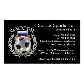 Russia Soccer 2016 Fan Gear Business Card