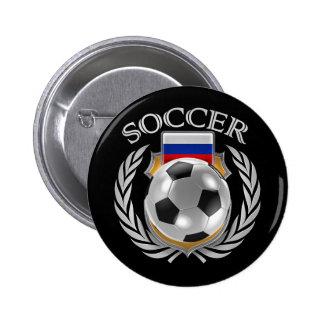 Russia Soccer 2016 Fan Gear Button