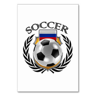 Russia Soccer 2016 Fan Gear Card
