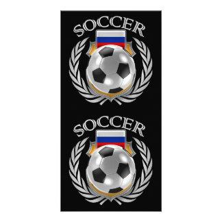 Russia Soccer 2016 Fan Gear Card