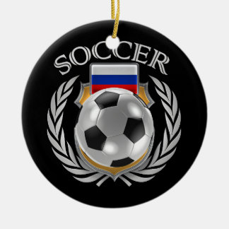 Russia Soccer 2016 Fan Gear Ceramic Ornament