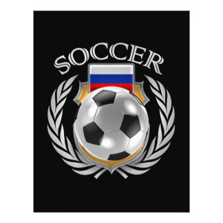 Russia Soccer 2016 Fan Gear Flyer