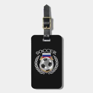 Russia Soccer 2016 Fan Gear Luggage Tag