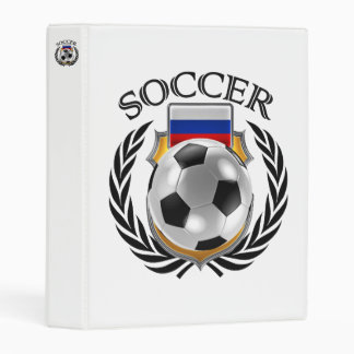 Russia Soccer 2016 Fan Gear Mini Binder