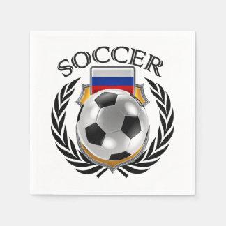 Russia Soccer 2016 Fan Gear Paper Napkin