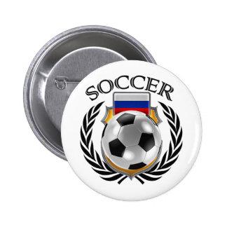 Russia Soccer 2016 Fan Gear Pinback Button