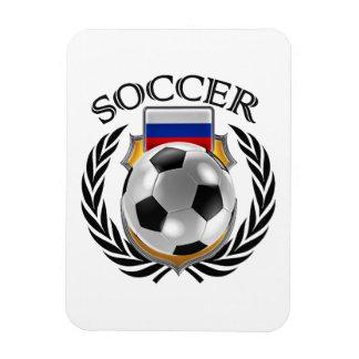 Russia Soccer 2016 Fan Gear Rectangular Photo Magnet