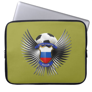 Russia Soccer Champions Laptop Sleeve