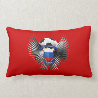 Russia Soccer Champions Throw Pillow