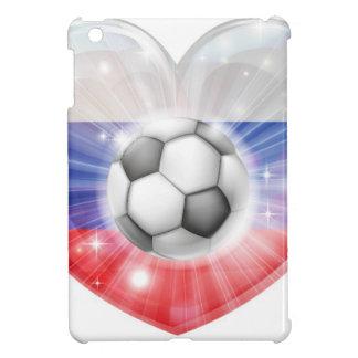Russia soccer heart flag iPad mini case