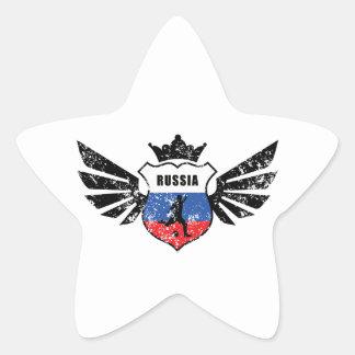 Russia soccer star sticker