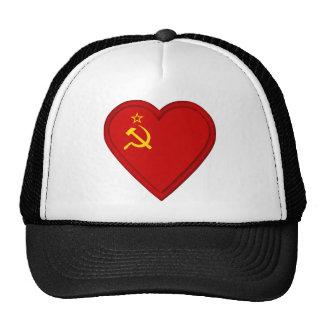 Russia Soviet union flag Trucker Hat