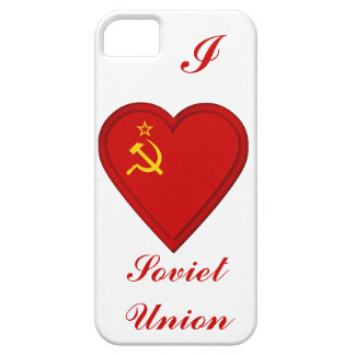 Russia Soviet union flag iPhone SE/5/5s Case