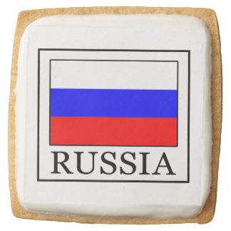 Russia Square Shortbread Cookie