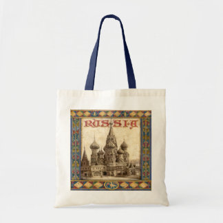 Russia, St. Basil's Tote Bag