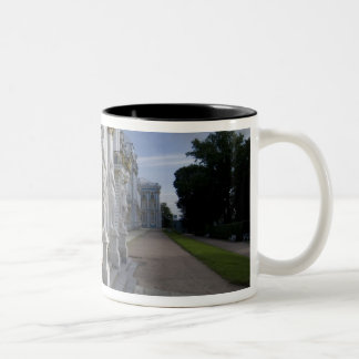 Russia, St. Petersburg, Catherine's Palace (aka 10 Two-Tone Coffee Mug