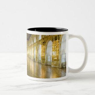 Russia, St. Petersburg, Catherine's Palace (aka 11 Two-Tone Coffee Mug