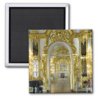 Russia, St. Petersburg, Catherine's Palace (aka 12 2 Inch Square Magnet