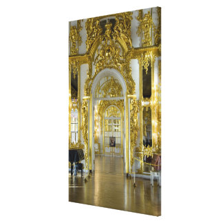 Russia, St. Petersburg, Catherine's Palace (aka 12 Canvas Print