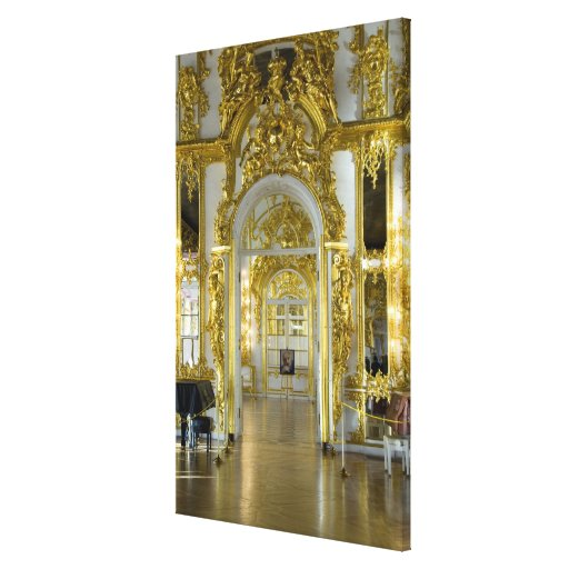 Russia, St. Petersburg, Catherine's Palace (aka 12 Canvas Print