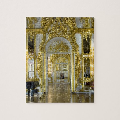 Russia, St. Petersburg, Catherine's Palace (aka 12 Jigsaw Puzzle
