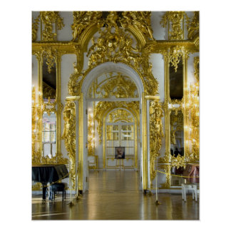 Russia, St. Petersburg, Catherine's Palace (aka 12 Poster