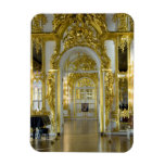 Russia, St. Petersburg, Catherine's Palace (aka 12 Rectangular Photo Magnet